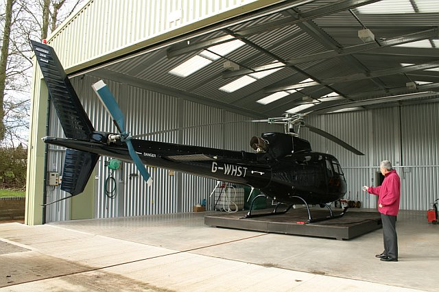 Helicopter Hangar Internal