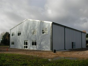 Commercial Steel Building for James Bevan
