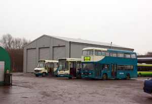 Arriva Buses Vehicle Maintenance Building