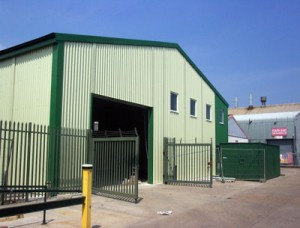 Seco Aluminium Steel Prefabricated Building