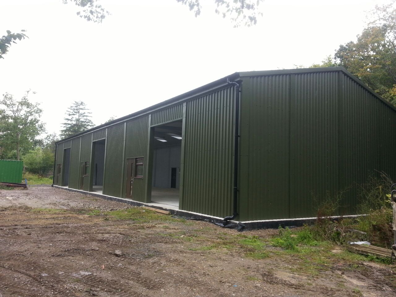 Prefabricated steel workshops Prefab workshops garages