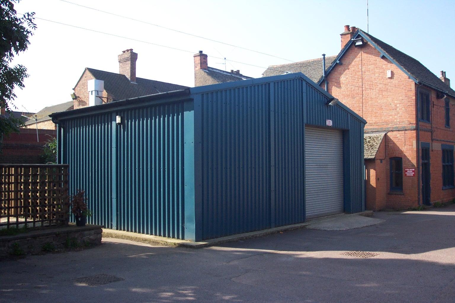 Steel Prefabricated Workshop